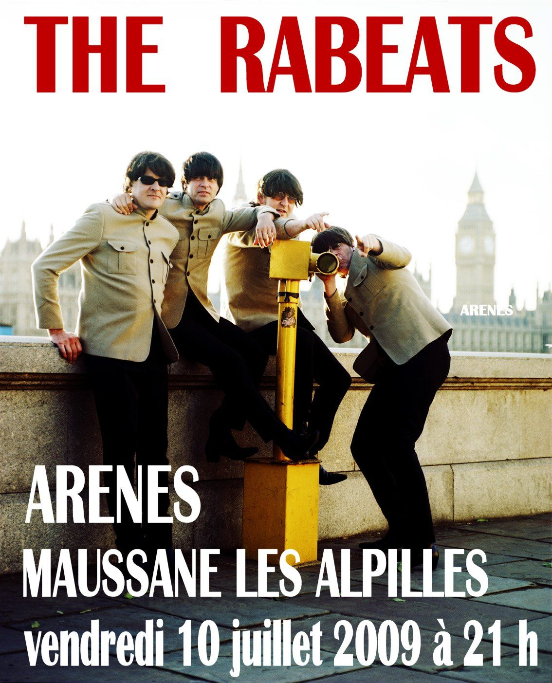 The Rabbeats et les Beatles